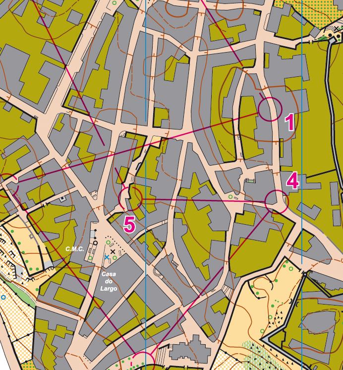 Trainings Alto Alentejo - Crato map